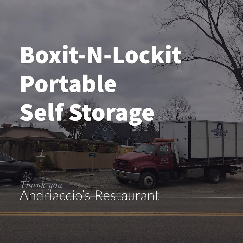 Boxit-N-Lockit Portable Self Storage Unit in Mayville, NY