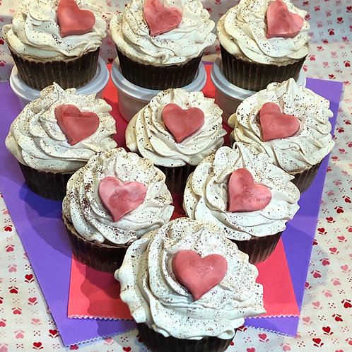Heart Soapy Cupcake