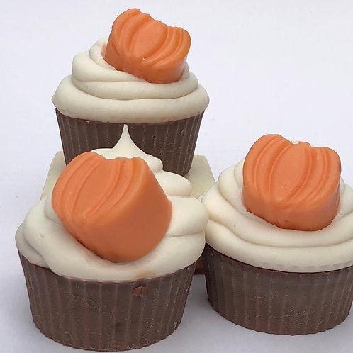Pumpkin Spice Soapy Cupcake