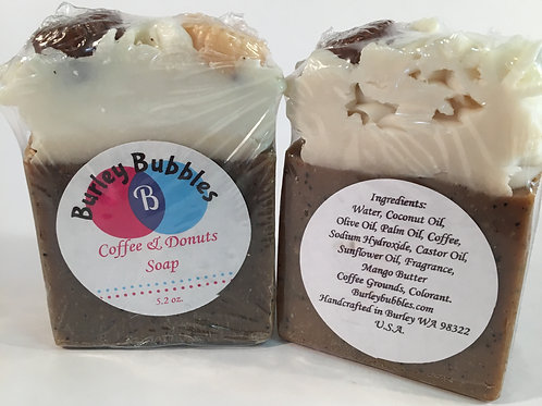 Coffee and Donut Soap
