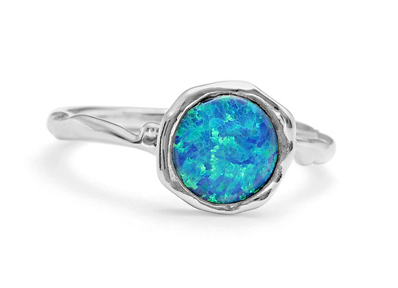 Blue Opalite SolitaireRing