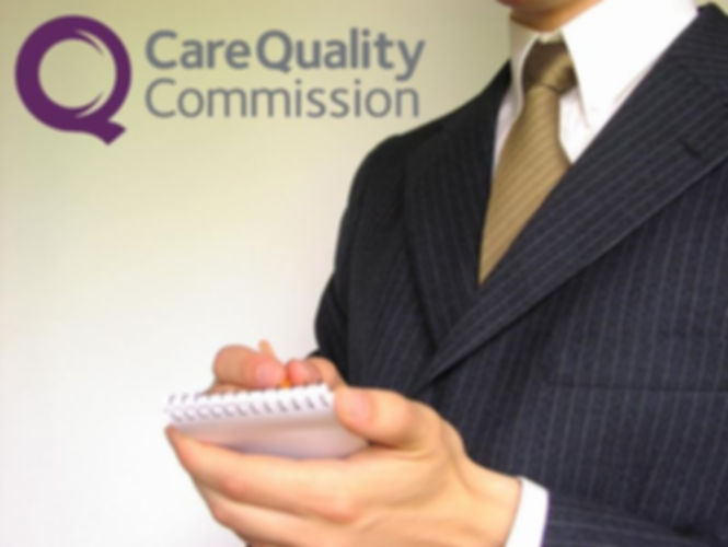 Care Quality Commission logo and image