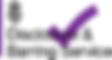 Disclosur & Barring Sevice logo
