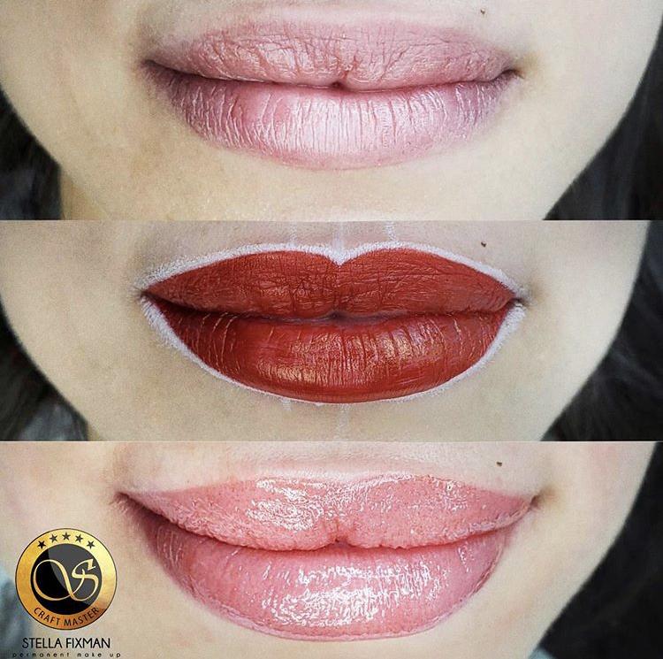 Lips Blush Sketch