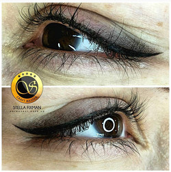 Winged Smokey Eyeliner
