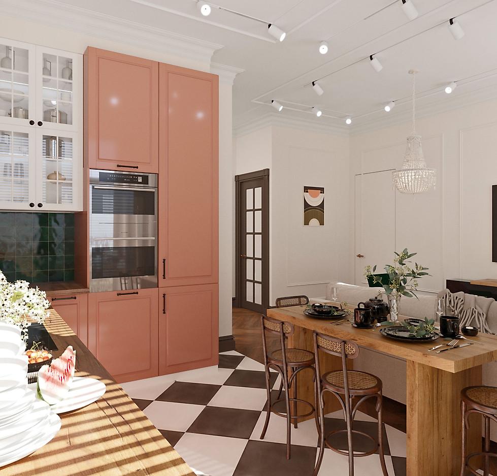 3д визуализация кухни