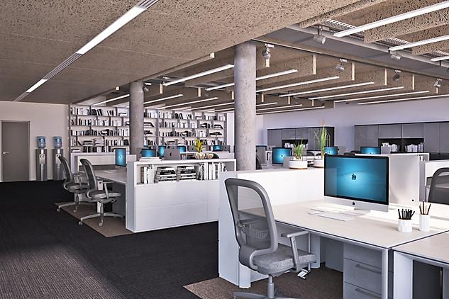 офис компании Барьер в Москве визуализация