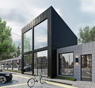 архитектурная визуализация Офисного Здания