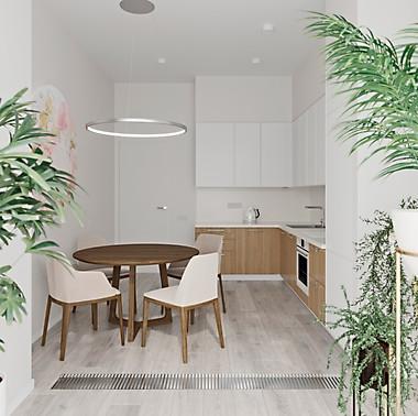 проект визуализации квартира 78
