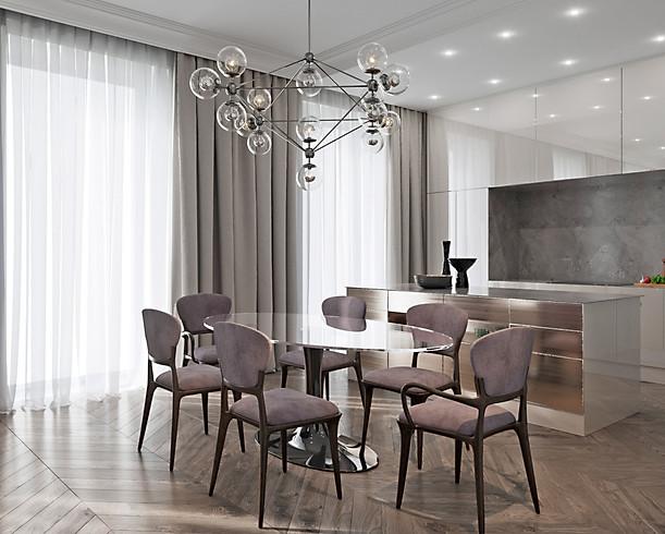 3d визуализация интерьера квартиры