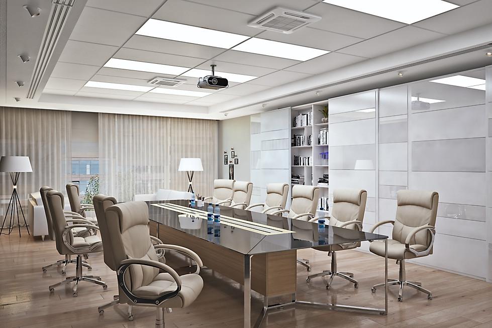 3D визуализация зала совещаний