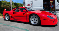 FERRARI F-40 Washed by Francisco