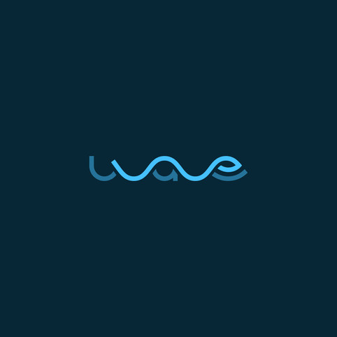 Wave Logo Text
