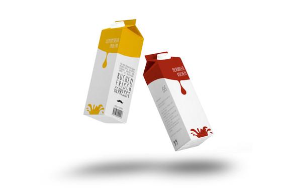Package Design Cake Juice