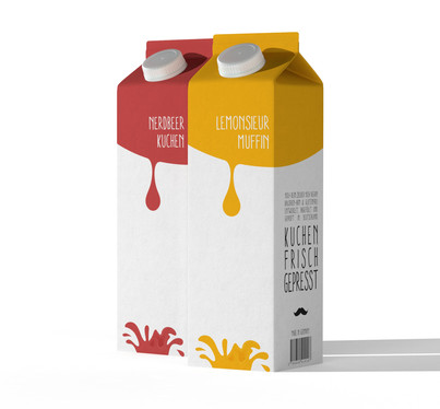 Package Design CakeJuice