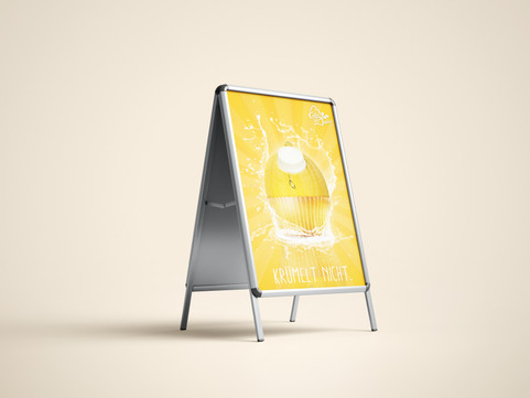 Plakat Design für CakeJuice