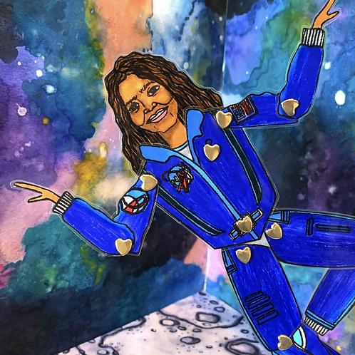 Leading Lady NASA Astronaut Kalpana Chawla Paper Doll Pattern