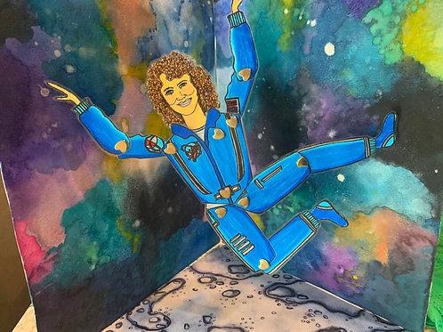 Leading Lady NASA Astronaut & American School Teacher Christa McAuliffe