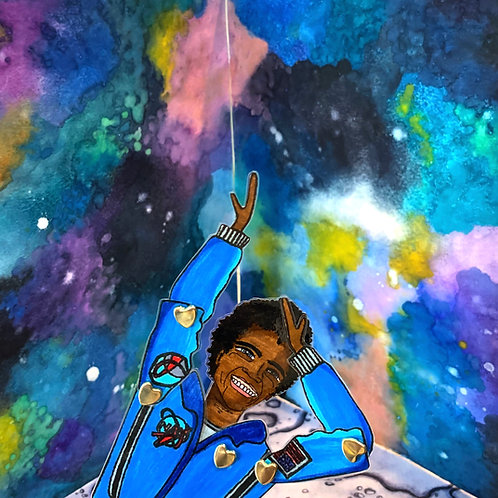 NASA Astronaut Dr. Jessica Watkins Paper Doll Pattern