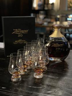 Rum sampler