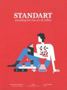 コーヒー専門誌 STANDARTにCANTEENが掲載されました