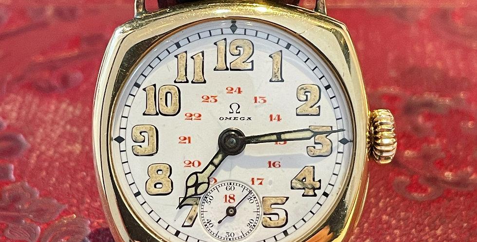 Vintage 18ct Gentlemen's Omega Wristwatch