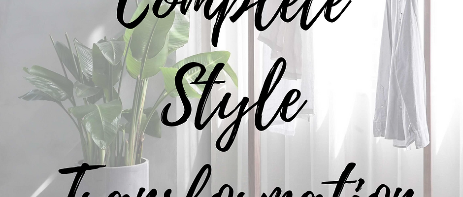 Complete Style Transformation Package
