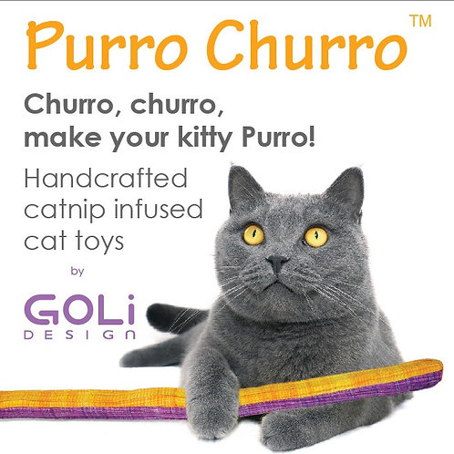 Purro Churro Cat Toy - Assorted Colors