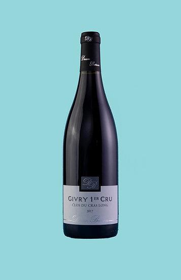 Danjean-Berthoux, Givry, Clos du Cras Long 1er Cru, 2017
