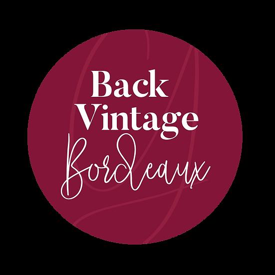 Back Vintage Bordeaux Château La Rose Cote Rol Grand Cru