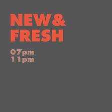 NEW & FRESH