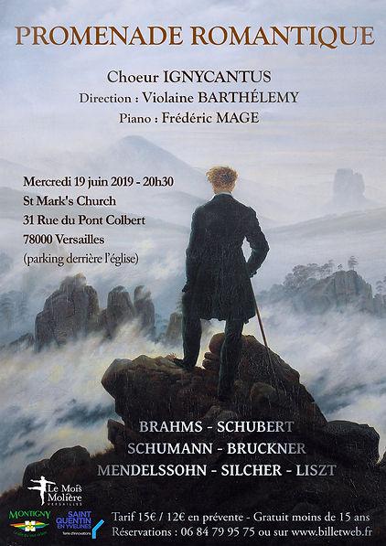 Concert Romantique allemand - 19 Juin 20