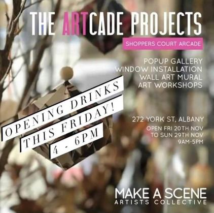 Jill OMeehan Artcade Project 2020 2021 (