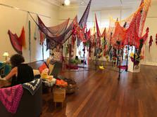 Jill OMeehan artist Hook Wrap Pull Golde