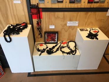 Wearable art Make a Scene Art Group Alba