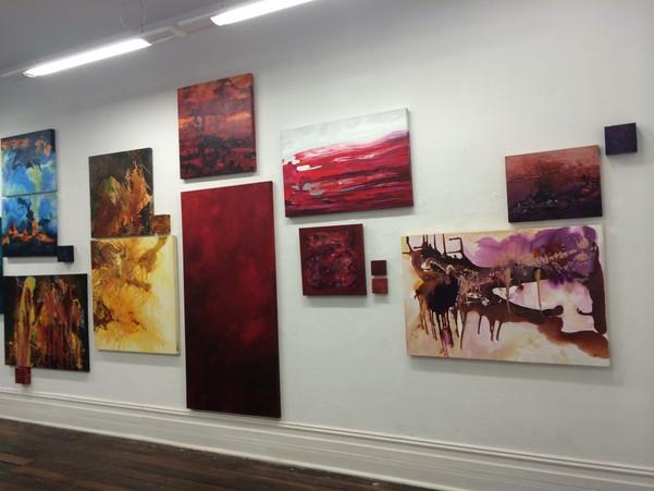 Jill OMeehan solo exhibit Kurb Gallery 2