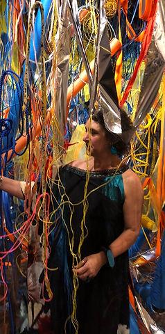 Jill O'Meehan Blue Poles 2020 (5)