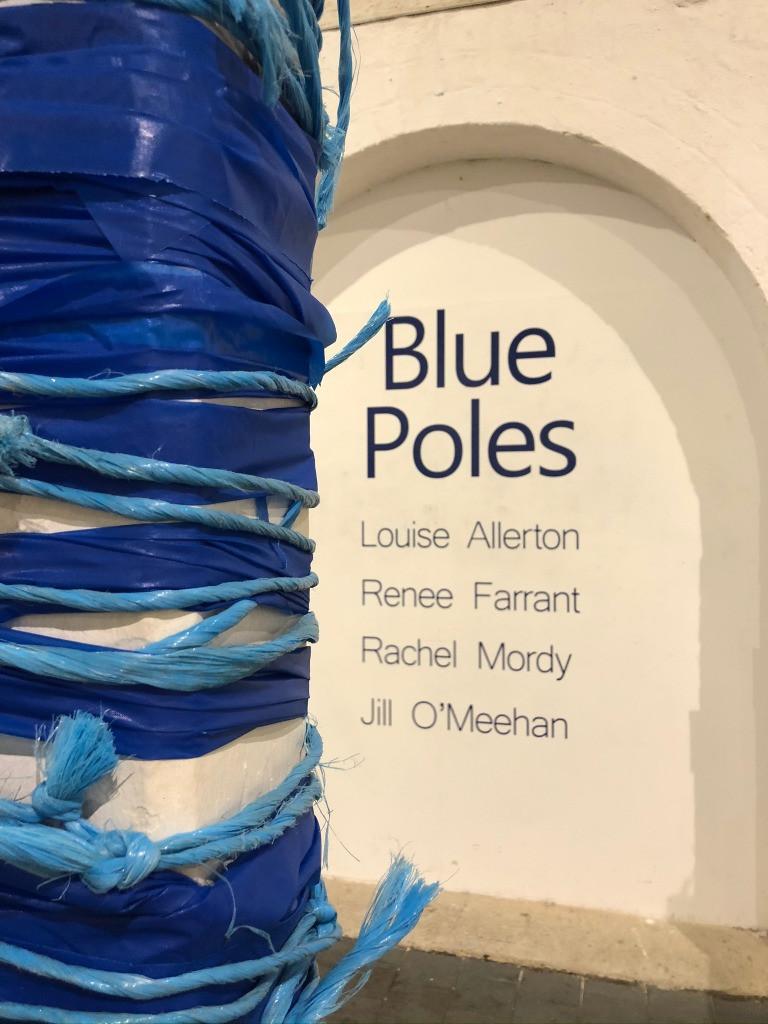 Jill O'Meehan Blue Poles 2020 (7)