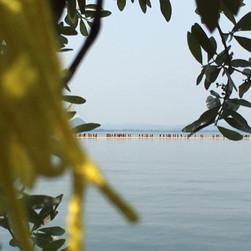 Lago DIseo Christos Floating Piers 2016.