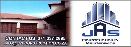 JAS CONSTRUCTION & MAINTENANCE Banner 1.