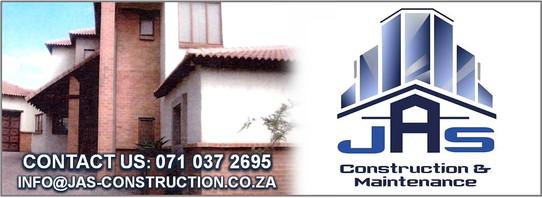 JAS CONSTRUCTION & MAINTENANCE Banner 5.