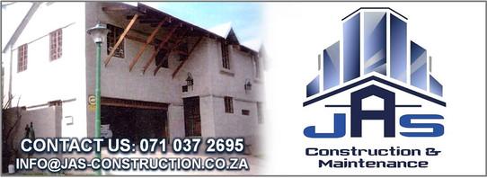 JAS CONSTRUCTION & MAINTENANCE Banner 3.