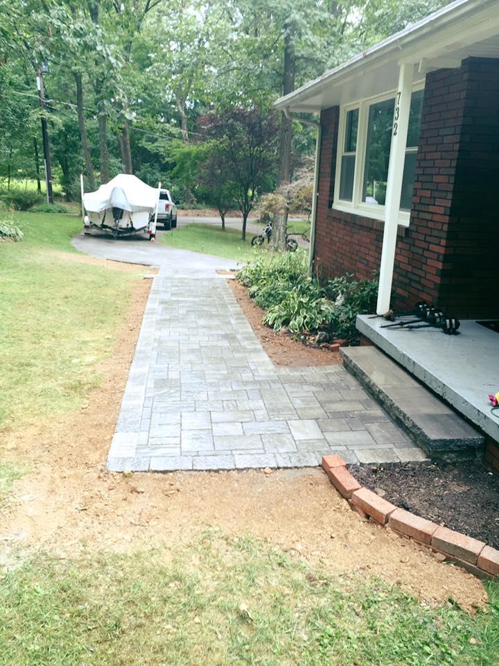 walkway complete
