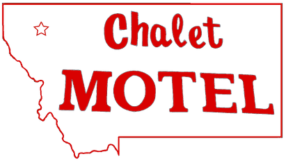 Chalet Motel Logo - Cutout Red (with sta