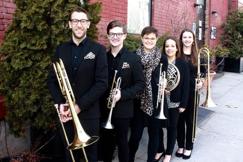 subtle cheetah brass quintet