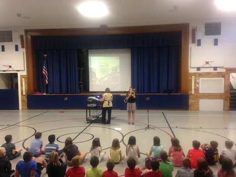 Interactive Picture Book Assembly - Wayne Elementary