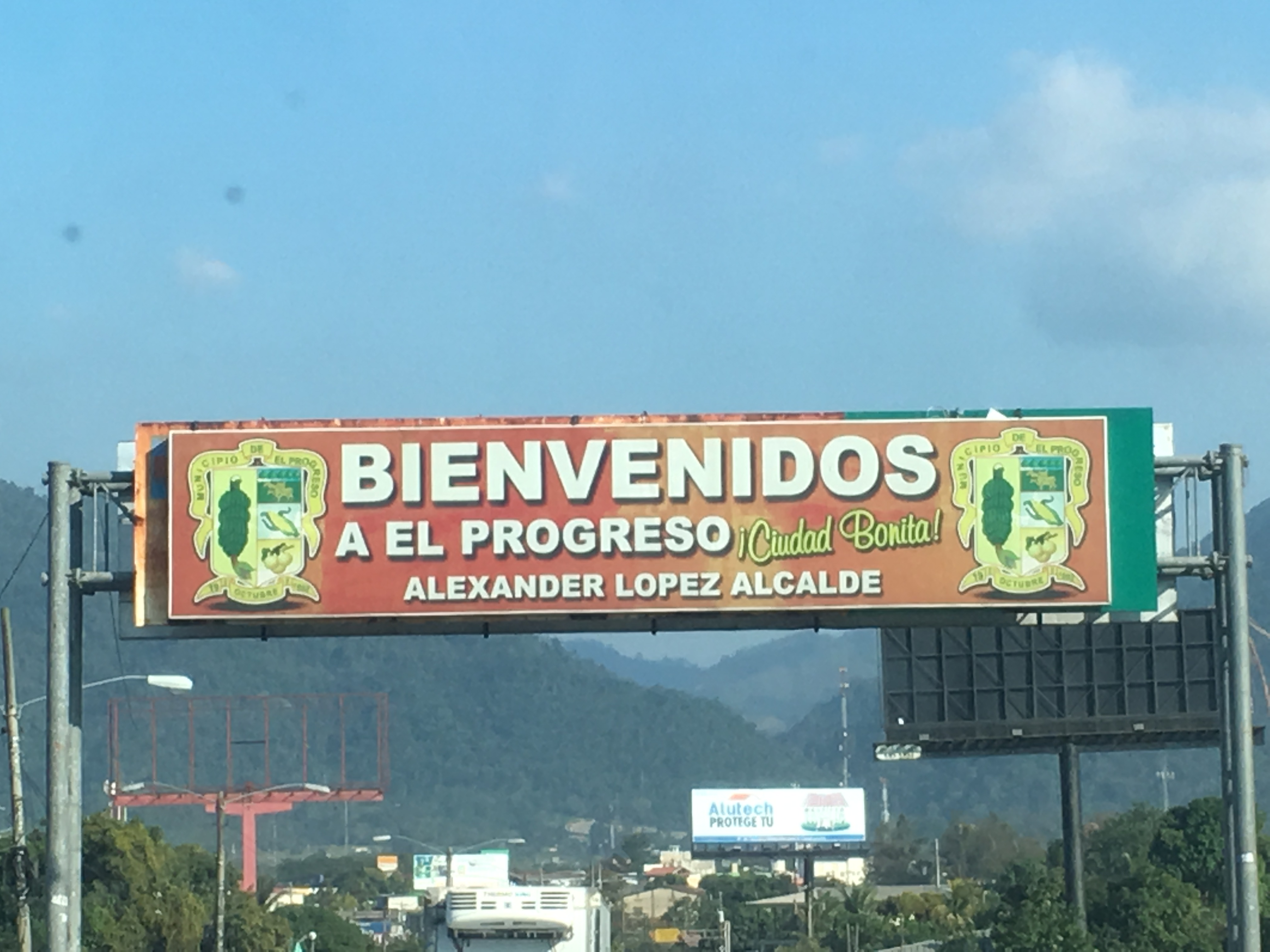 Welcome to El Progreso