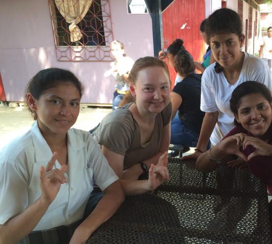 3 Deaf Hondurans I met in March