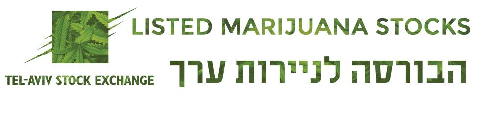 Tel Aviv Listed Marijuana Stocks