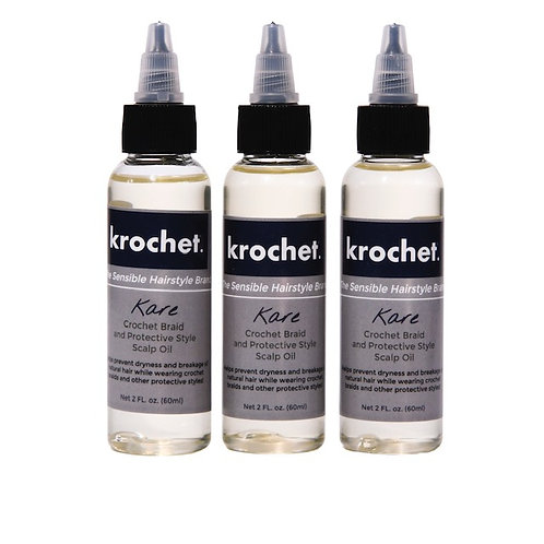 krochet. Kare Crochet Braid and Scalp Oil